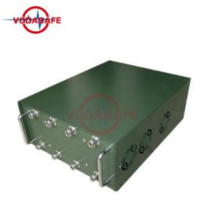 Multi emittente di disturbo di alto potere dell'emittente di disturbo del segnale di Manpack rf delle fasce per Convoy/GPS/Glonass/Galileo L2 L3 L4 L5; Telecomando 433MHz/315MHz/868MHz dell'automobile