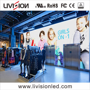 Haute qualité à l'intérieur de l'écran vidéo LED mur / Affichage du panneau à LED RVB pour la scène disco d'éclairage (P2.6/P3 l'écran)