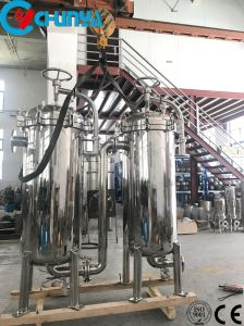 Alloggiamento del filtro a sacco di grande flusso di alta qualità multi