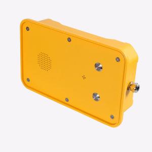 Impermeable al aire libre Top-Rated GSM/3G de teléfono de emergencia para la industria de peligrosos