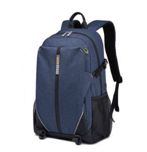 新しい方法ポリエステル屋外旅行のための多機能の学校のラップトップのバックパック