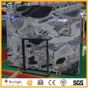 Decorazione della stanza da bagno delle lastre di marmo blu della galassia cinese con buona qualità