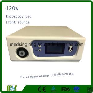Fuente de luz LED de alto brillo para la cirugía laparoscópica con 120W de potencia Mslcl02