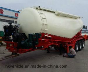 반 2018 대량 시멘트 수송 유조선 트레일러 및 트럭