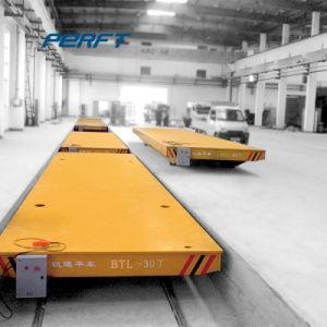 Carrello piano elettrico resistente di uso di fabbricazione dell'acciaieria