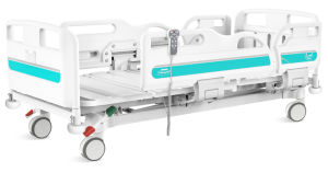 Trois fonctions lit patient électrique