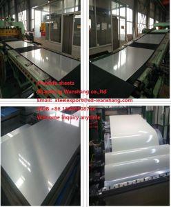 Il sig. strati della latta laminati a freddo 0.15-0.5mm del rivestimento di stagno per alimento può SGS di iso della fabbrica dei piatti d'acciaio