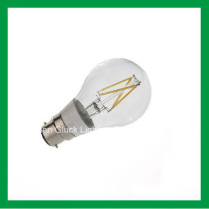 4W A19/A60 B22 Dimmable LED Bulb Filament Lamps (A19FW4-3.5-B22)