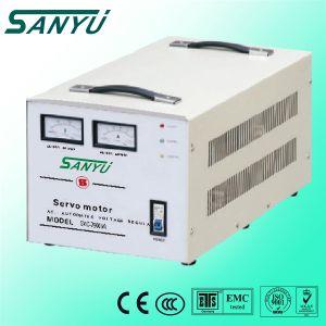 AC estabilizador de voltaje 380V Tres fase SVC 1,5 KVA~el regulador de voltaje de 90kVA.