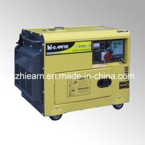 Air-Cooled tipo silencioso Generador Diesel (DG5500SE3).