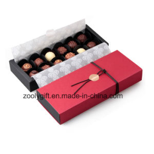 Chocolate artesanal de calidad de regalo papel de embalaje