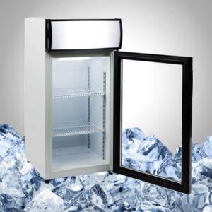 La pantalla de la Encimera congelador para helados