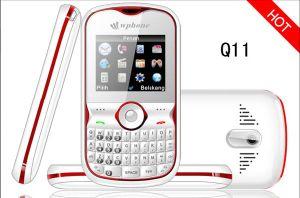 De Mobiele Telefoon van Qwerty met g-Sensor, ATV en Qual Band, Dubbele Spreker