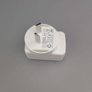 Au отверстия для настенного монтажа Multi AC тока 1,2 А РЕДАКЦИЯ 2.0A кабель micro-USB 5 В зарядное устройство