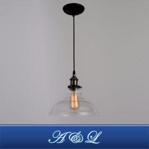 Venda a quente estilo Vintage Lâmpada Pendente de vidro para sala de estar