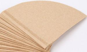 Кофе фильтровальной бумаги в форме