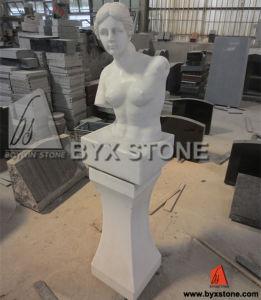 Het witte Marmeren BinnenBeeldhouwwerk van het Venus/Grieks Standbeeld