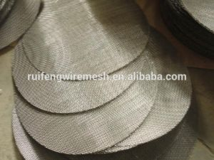 Filtro de discos de filtro de tela do extrusor