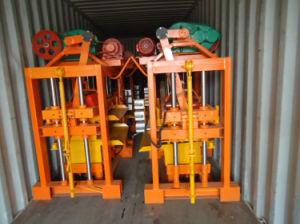 販売のためのベストセラーQtj4-40手動ブロック機械