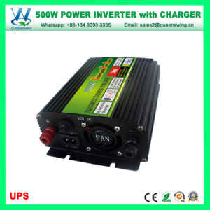 Carregador de 500 W de energia solar do inversor do inversor com carregador (QW-M500UPS)