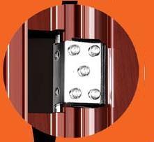 Porte de sécurité en acier avec certificat CE (CF-003)
