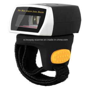 Icp-Er1 1d Mini Usável Bluetooth Scanner de código de barras do Anel do dedo para a indústria e o IOS/Android Market /Windows com marcação CE/FCC/RoHS