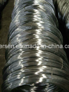 Venda de arame de ferro galvanizados a quente/Bwg22 Fio galvanizado/ Fio galvanizado de baixo carbono