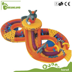 La impresión completa gorila inflable gorila inflable Castillo con el coche