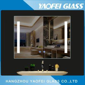 prezzo dello specchio della stanza da bagno illuminato hotel LED della stella di modo cinque di 5mm