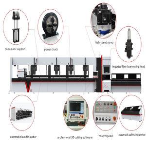 管の切断のための1000W Ipgのレーザーソースの管のファイバーレーザー