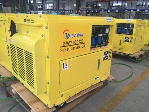 gruppo elettrogeno diesel raffreddato aria a tre fasi 6.5kVA