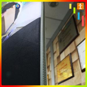 Портативный дизайн подставки индивидуальные разработки натяжение ткани дисплеи