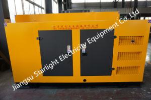 132KW/165kVA de potencia diesel generador silencioso grupo electrógeno diesel con motor Weichai