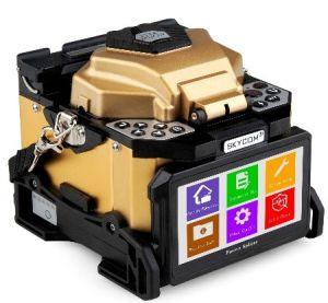 Het kleurrijke LCD Lasapparaat van de Fusie van de Vezel van de Monitor (t-308X)