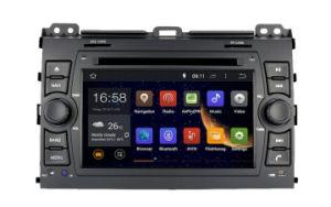 Auto-rádio Zestech DVD para a Toyota Prado 2002-2009