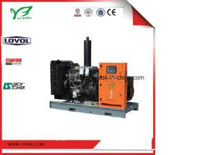insieme generatore di forza motrice standby 26kw/33kVA con il motore ed il baldacchino di Lovol