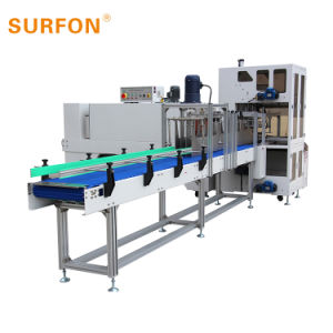 Caixa de garrafas de cerveja Thermal shrink wrapping Machine