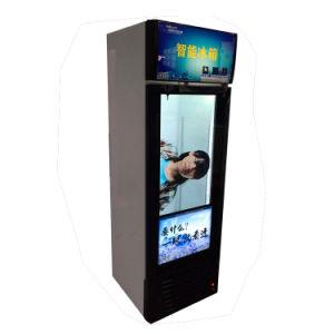 Publicidade transparente Frigorífico com tela LCD de 32 e 3D