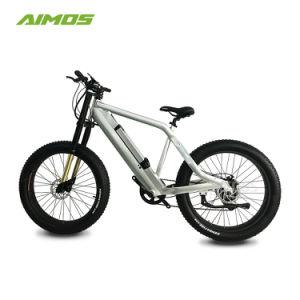 Nuevos productos en color plata 1000W 48V de la Montaña de la Grasa Ebike eléctrico