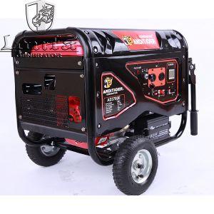generatore elettrico della benzina del blocco per grafici aperto di inizio di 5.5kw 5.5kVA