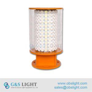 Omnidireccional tipo torre de alta intensidad de una obstrucción de la norma de la OACI / luz de la luz de la aviación