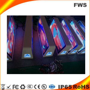 Doppio schermo laterale del tetto LED del tassì P5