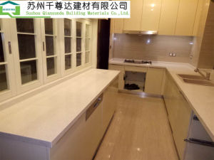 Кухонным столом, настраиваемые кухне, твердой поверхности верхней части счетчика, искусственного камня рабочей поверхности