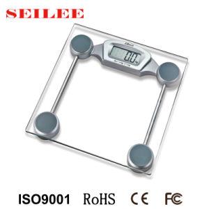 180kg numérique de 6 mm de verre corps personnels balance de pesage