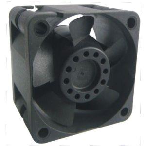 Lâminas de plástico de ventilação de refrigeração do ventilador axial DC (SF4028)