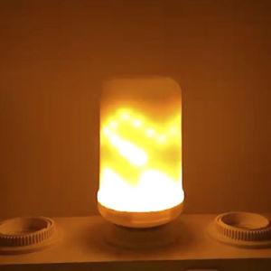 2018 fuego efecto llama LED dinámica el parpadeo de luz de la decoración de emulación de la luz de la llama