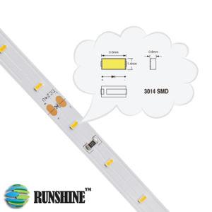 Tipo SMD3014 Bandas de retroiluminação LED flexíveis em 12LM 14,4W/M