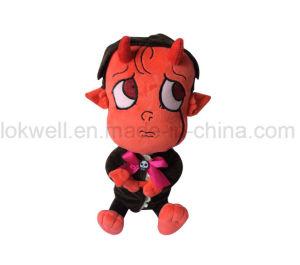 연약한 아이들 선물 인형 장난감이 견면 벨벳에 의하여 채워진 작은 아기에 의하여 농담을 한다