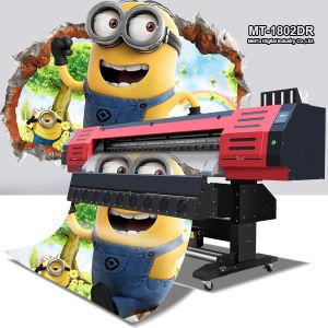 L'alta risoluzione ed accelera la stampante esterna solvibile della stampatrice di 1.8m Eco Digital