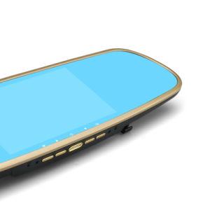 Multifunktions5.0 Zoll-Spiegel-Gedankenstrich-Nocken mit GPS-Navigation und Android für Digital-Video-Satz